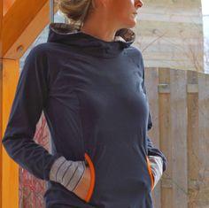 Auf der Suche nach einem neuen Sweatshirtschnitt, den man eventuell auch mal zu einer Jacke umfunktionieren kann, stieß ich aufLady Cometvon Mialuna.Gefunden, gekauft, ausgedruckt, zusa…