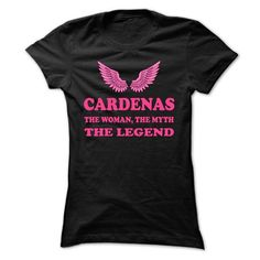 CARDENAS, the woman, the myth, the legend - #mens hoodies #print shirts. ORDER HERE => https://www.sunfrog.com/Names/CARDENAS-the-woman-the-myth-the-legend-psosesbxni-Ladies.html?60505