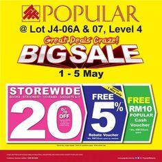 5ff810230907 1-5 May 2019  Johor Bahru BIG SALES