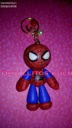 Llaveros de Spiderman