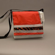 Purse made from a recycled kitesurf sail by Gaohdesign on Etsy