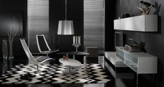 Fall in love with these pictures of black and white #delightfull #uniquelamps #WhiteInspiration #BlackInspiration