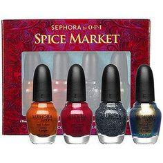SEPHORA by OPI Spice Market Mini 4-Piece Collection Spice Market Mini 4-Piece Collection #Glimpse_by_TheFind