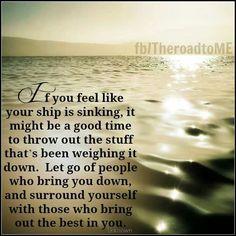 Sinking ship?