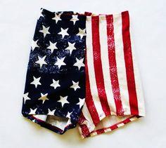 American Flag - Roller Derby Short - Merica 261b0db48e02e
