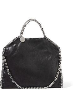 Black faux brushed-leather Magnetic snap fastening at top Comes with dust bag Weighs approximately 2.4lbs/ 1.1kg Made in Italy