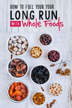 Think gels are your only option for long run nutrition? Checkout some whole food ideas that will leave you feel better during and after the run