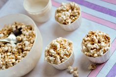Maple-Butter Spiced Popcorn