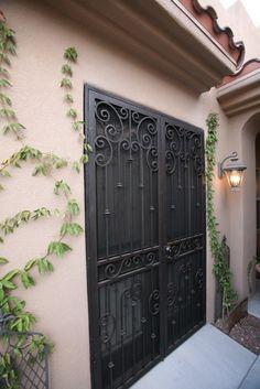 decorative security screen doors | Images of Ornamental Security Screen Doors