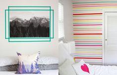 Washi Tape: 10 maneiras incríveis de usar fita adesiva colorida para decorar a…