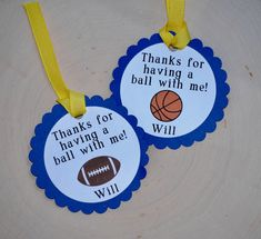 A personal favorite from my Etsy shop https://www.etsy.com/listing/218779629/all-star-sports-birthday-party-favor