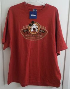 Disney's Mickey Mouse An American Tradition Florida T-Shirt Adult XL X-Large #Disney
