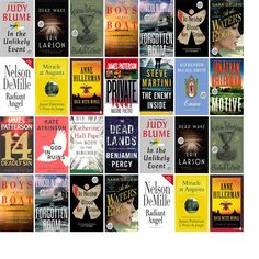 """Wednesday, June 17, 2015: The Brookfield Library has two new bestsellers and 16 other new books in the Large Print section.   The new titles this week include """"In the Unlikely Event,"""" """"Dead Wake: The Last Crossing of the Lusitania,"""" and """"The Buried Giant: A Novel."""""""