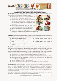 Programa Maranhão Profissional 2014: ETAPA PRÉ-VESTIBULAR - PLANO B - EDUCAÇÃO FÍSICA