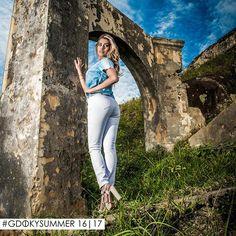 Gdoky Jeans Fortress Island: Explore o melhor de si, use Gdoky! #Whitepants #powerdenim #Summer