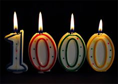 1,000 Lessons Learned From My First 1,000 Blog Posts