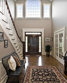 Image result for best paint colors for 2 story foyers