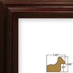 Craig Frames 14 by Picture Frame, Wood Grain Finish, Wide, Cherry Red ** You can get additional details at the image link. (This is an affiliate link)