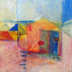 Oil & Wax Paintings by Jill Krasner