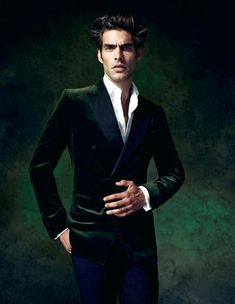 Jon Kortajarena, Velvet Suit, Velvet Blazer, Velvet Jacket, Giorgio Armani, Evening Trousers, Versace, Smoking Jacket, Bespoke Suit
