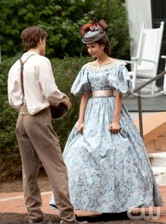 """""""Lost Girls"""" - Pictured (L-R) Paul Wesley as Stefan and  Nina Dobrev as Katherine in THE VAMPIRE DIARIES on The CW.  Photo: Bob Mahoney/The CW  ©2009 The CW Network, LLC. All Rights Reserved."""