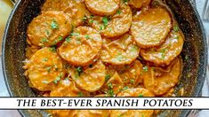 The BEST-EVER Spanish Potatoes | Patatas a la Importancia Recipe Baby Potato Recipes, Baby Food Recipes, Whole Food Recipes, Cooking Recipes, Food Baby, Spanish Dishes, Spanish Food, Sweet Potato Rice, Spanish Potatoes