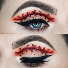 Halloween has come! Do you want your family and you to have the most meaningful Halloween? Come and check our best Halloween make-up!