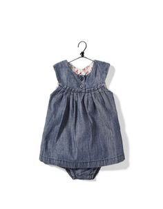 I really like little blue jean outfits for kids. so cute and not the traditional