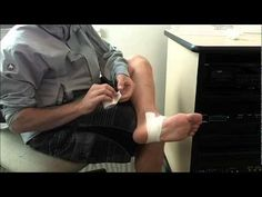 HOW TO TAPE PROPERLY FOR PLANTAR FASCIITIS