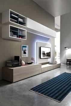 Le decorazioni da parete sono lo strumento giusto per conferire un look creativo e innovativo per i muri di casa! 250 Idee Su Parete Attrezzata Idee Parete Attrezzata Arredamento Soggiorno Idee Arredamento Soggiorno