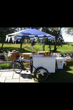 Ice cream cart.....delicious for a summer wedding!