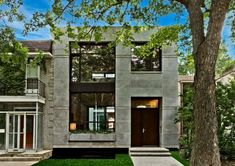 Gray facade? Yes, this is a very good choice!