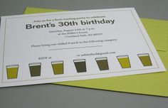 original link to the modern beer tasting party from decorating obsessed