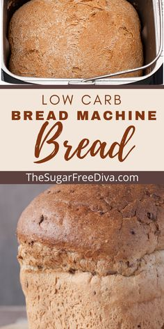 YUMMY BREAD! This is the perfect idea for a great breakfast, lunch sandwich, or any kind or recipe that would require bread. Low carb, keto friendly and sugar free!