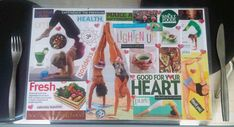 How to Make a Vision Board Place Mat by Intuitive KB  #lawofattraction #loa #spirituality