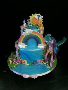 My Little Pony Cake by ~Spudnuts on deviantART