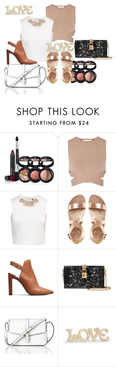 """Untitled #4178"" by mariaisabel701 ❤ liked on Polyvore featuring Laura Geller, Jonathan Simkhai, Ted Baker, Kenneth Cole, Dolce&Gabbana, L.K.Bennett and Lenox"