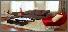 Decorating Living Room With Curved Brown Leather Sectional Sofa Ideas L Shaped Chaise Lounge And White Chairs Also Home Decor Nautical
