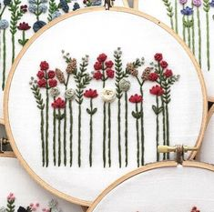 Hand embroidery designs by and other adventures Embroidery Co www.- Handstickmuster von und andere Abenteuer Embroidery Co www. Hand Embroidery Design by and Other Adventure Embroidery Co … - Crewel Embroidery Kits, Hand Embroidery Patterns, Embroidery Thread, Embroidery Supplies, Embroidery Tattoo, Beginner Embroidery, Embroidery Letters, Embroidery Patches, Bordado Floral