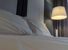 Hotel Casa Poli, Mantova - Letto con biancheria Frette.