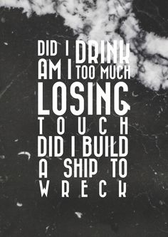 Ship to Wreck - Florence and the Machine