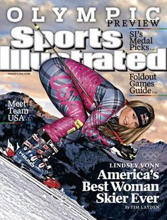 Lindsey Vonn (a native Minnesotan) learned to ski and race at Buck Hill in Burnsville, MN.