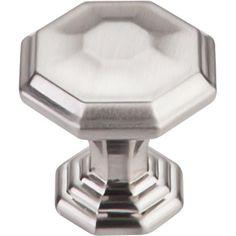Chareau Chalet Knob 1 1/4'' TK340BSN Brushed Satin Nickel