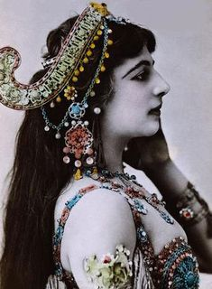"Margaretha Geertruida ""M'greet"" Zelle McLeod (7 August 1876 – 15 October 1917), better known by the stage name Mata Hari, was a Dutch exotic dancer, courtesan, and accused spy who was executed by firing squad in France under charges of espionage for Germany during World War."