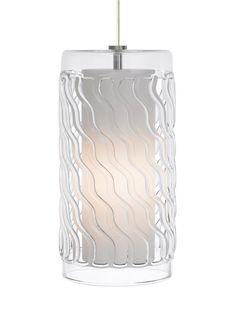 View the Tech Lighting 700TDLIZGPC-CF Liza Grande Line-Voltage 1 Light Fluorescent Clear Pyrex Cylinder Pendant at Build.com.     $436