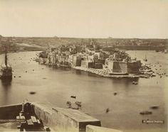 Isola Point Malta circa 1870s