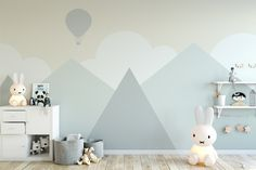 Kids Wallpaper For Child Cartoon Mountain Landscape Wall Mural Soft Hot Air Balloon Wall Print Baby The post Kids Wallpaper For Child Cartoon Mountain Landscape Wall Mural Soft Hot Air Balloon Wall Print Baby appeared first on Babyzimmer ideen. Geometric Wallpaper For Walls, Kids Wallpaper, Wall Wallpaper, Wallpaper Size, Bedroom Wallpaper, Painting Wallpaper, Cartoon Wallpaper, Baby Boy Rooms, Baby Bedroom