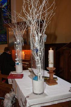 mariage hiver decoration table centre de table boule a neige aquarium tulle mariage en hiver. Black Bedroom Furniture Sets. Home Design Ideas