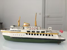 Wooden Boats, Model Ships, Wood Toys, Folk Art, Metal, Handmade, Design, Wood Boats, Concept Ships