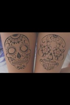 Candy Skull Tattoos
